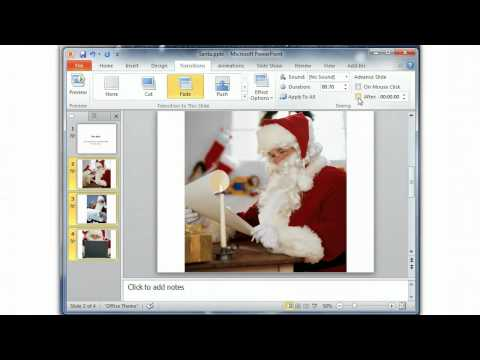 PowerPoint automatic slide show tutorial