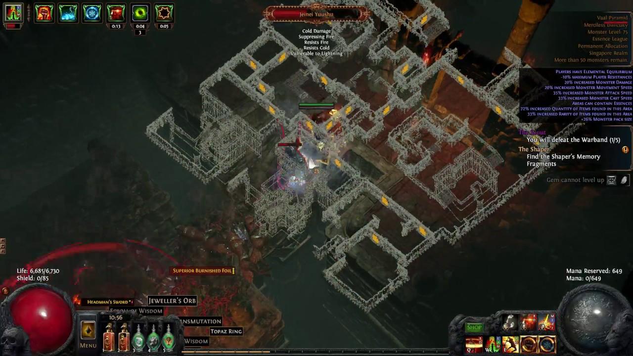 Poe Cheap Build