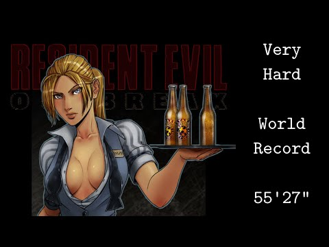 Resident Evil Outbreak - Any% Very Hard Lone Wolf Speedrun - 55