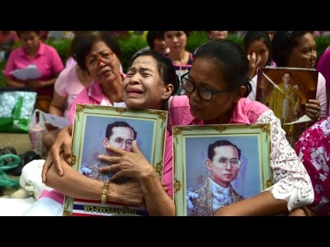Thailand mourns King's death: 'He is our father...
