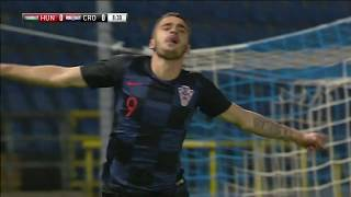 MAĐARSKA U-21 vs HRVATSKA U-21 1:4 (prijateljska utakmica)