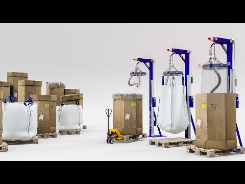 Automatic Container Bulk Bag Discharging Station Made in ...