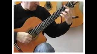 Abrazame, красивая мелодия на гитаре