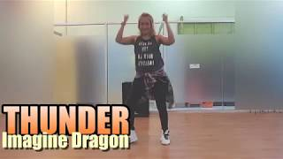 #zumba #thunder #imaginedragon #choreography Imagine Dragon - Thunder | Zumba Choreography