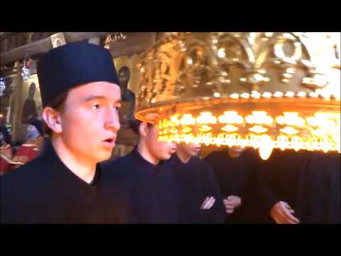 Orthodox Pope of Alexandria visits Protato Monastery, Mount Athos