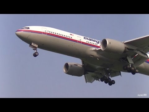 ✈R.I.P. Malaysia Airlines B777 9M-MRO landing @Narita Airport rwy16L(成田空港/マレーシア航空) .