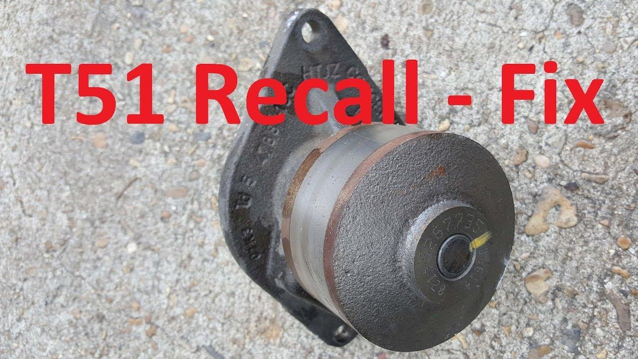 Dodge Truck Recall Water Pump