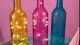 Đèn led nắp chai trang trí xinh xắn cho quầy Bar