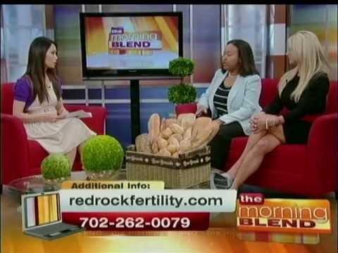 Fertility Specialist Dr  Eva Littman & Erin Rutten on The Morning Blend in  Las Vegas