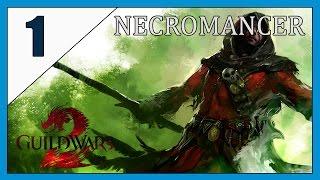 Guild Wars 2. Let's Play. Necromancer Part 1.