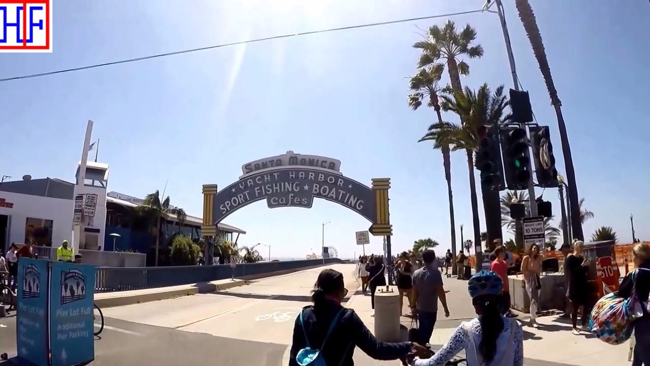 Third Street Promenade >> Los Angeles La Santa Monica Pier And Third Street Promenade Tourist Attractions Episode 5