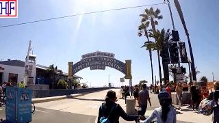 Los Angeles (LA) | Santa Monica Pier and Third Street Promenade | Tourist Attractions | Episode# 5