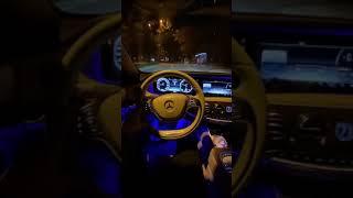 Arabasnapleri Araba Snap  MERCEDES S-Class GECE YOLCULUK SNAP HİKAYE