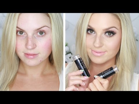 First Impression ♡ Maybelline Fit Me Shine Free Foundation Stick - FOUNDATION APPLICATION DEMO