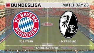 FIFA 20 FC Bayern vs SC Freiburg Bundesliga Matchday 33