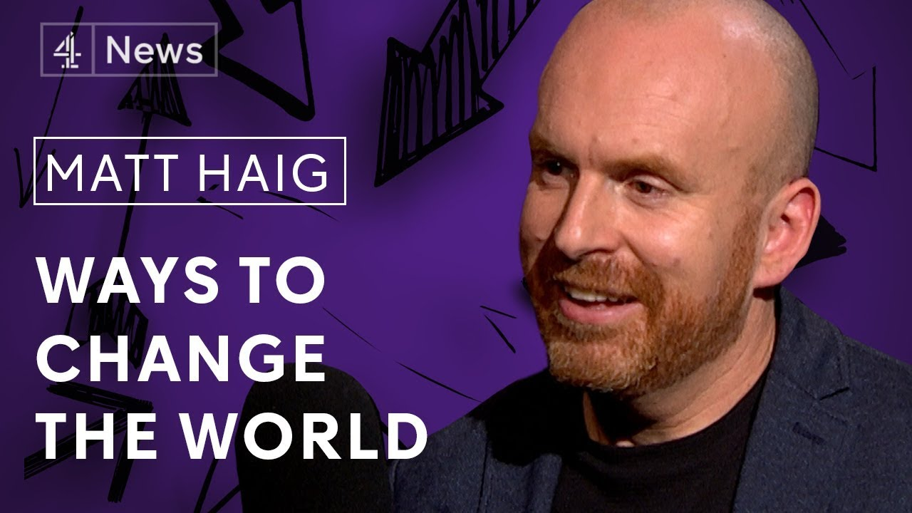 Download Matt Haig on living with depression, social media addiction and changing the nervous planet