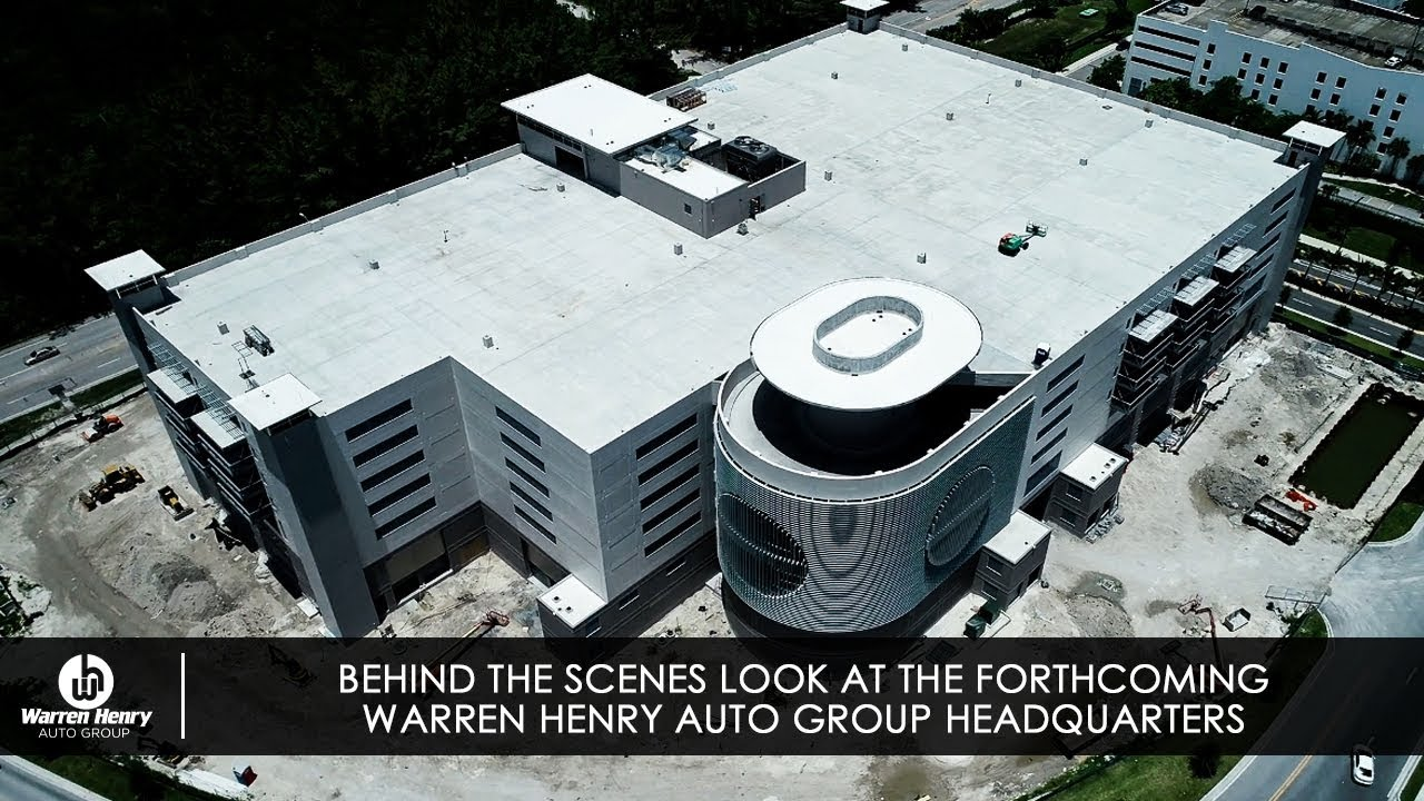 Warren Henry Range Rover >> A Behind The Scenes Look At The New Forthcoming Warren Henry Auto Group Headquarters