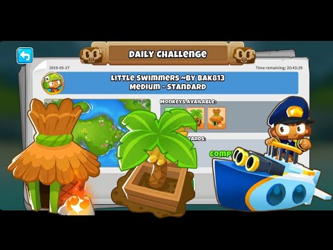Btd6 Advanced Challenge 12/5/19 - Down a Mudy Stream - YouTube
