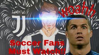 Drawing Cristiano Ronaldo   Juventus 2018   The New Era of Ronaldo