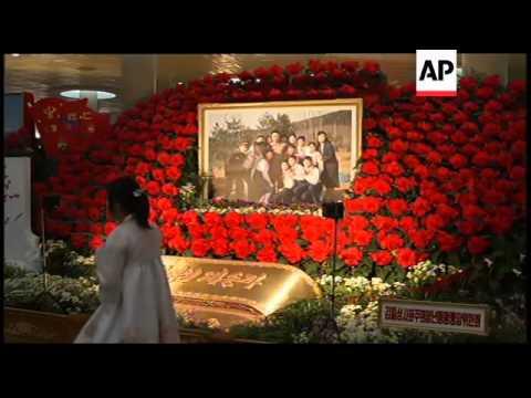 Kimjongilia flower festival marks birthday of late leader Kim Jong Il