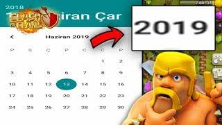 TARİHİ 1 YIL İLERİ ALDIM !! NELER OLDU !! - Clash Of Clans