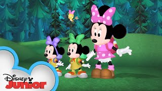 Happy Campers | Minnie's Bow-Toons | Disney Junior
