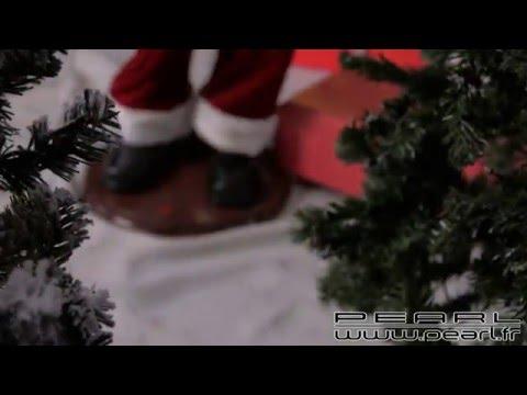 NC8438 - Père Noël géant avec fonction karaoké                -150 cm