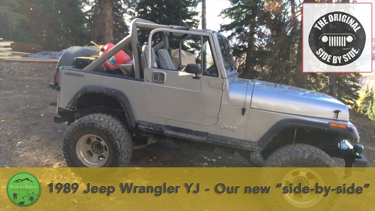 1989 Jeep Wrangler YJ | The Original Side by Side - YouTube
