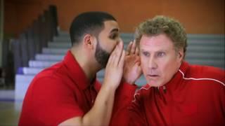 Drake and Will Ferrell Handshake Lessons - NBA Awards 2017 | NBA on TNT