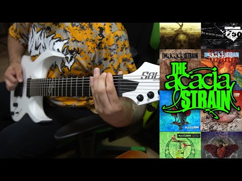 THE ACACIA STRAIN Guitar Riff Evolution (...and Life Is Very Long - Gravebloom)