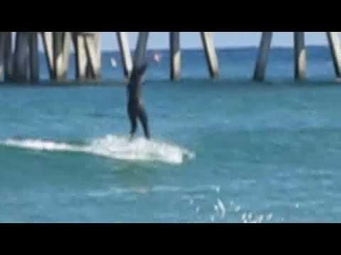 Surfing In Deerfield Beach