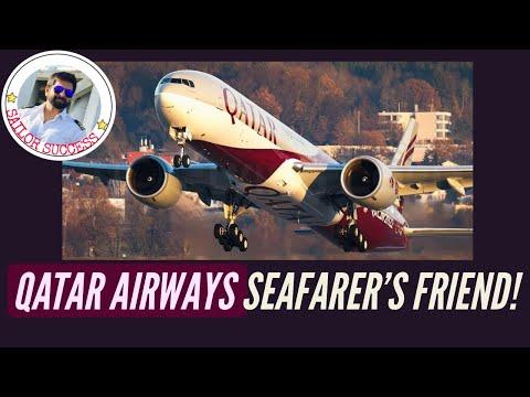 Saviour of Merchant Navy Crew Change Crisis: Qatar Airways