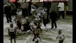 University of Montana vs Appalachian State Highlights 2009