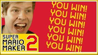 VINNER SEX GÅNGER I STRÄCK! - Multiplayer i Mario Maker 2 #2