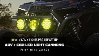 Vision X UTV Light Set Up with Mike Cafro