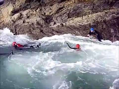 Coasteering in Pembrokeshire, Wales - Mega Low Tide