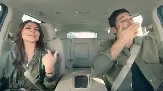 """اليسا تغني للفنان """" راشد الماجد هالعيون مع هشام الهويش في برنامج Carpool karaoke 2018"""