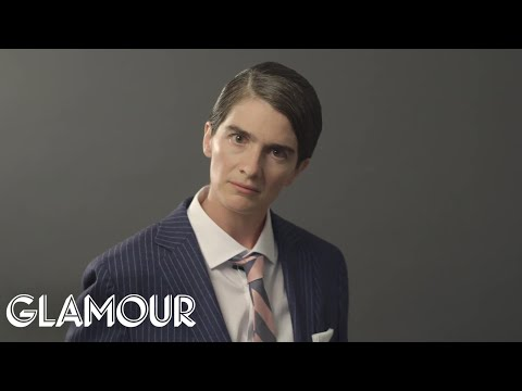 Gaby Hoffmann Plays Jordan Belfort in The Wolf of Wall Street | Role Reversal | Glamour