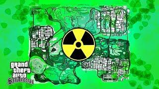 Страшный вирус заразил всю карту в GTA San Andreas 😱