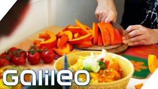 Selbstexperiment: 24 Stunden als Frutarier | Galileo | ProSieben