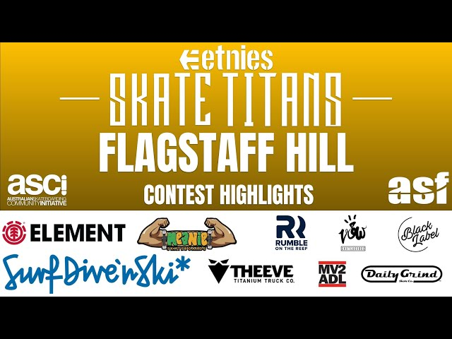 Round 7. Flagstaff Hill Skate Titans Highlights 2018