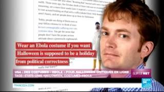 """SUR LE NET - États-Unis : des costumes """"Ebola"""" pour Halloween critiqués en ligne"""
