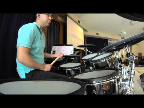 10,000 Reasons  Drums service 9am