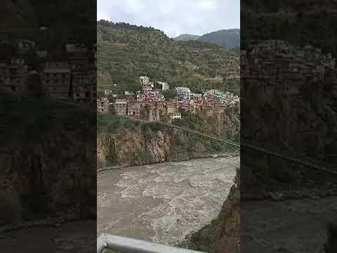 River Chinab Flowing Through Prem Nager