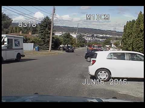 Seattle Police tackle woman