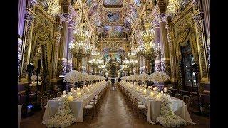 The most breathtaking wedding at Opera Garnier Paris!