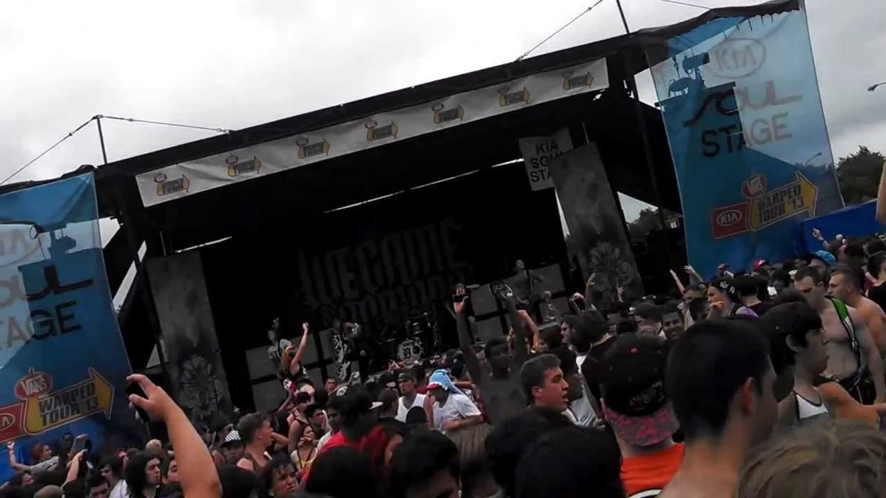 We Came As Romans Mosh Pit Warped Tour 2013 - YouTube