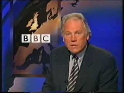 BBC Nine O'Clock News Announces Jill Dando's Death (BBC 1999)