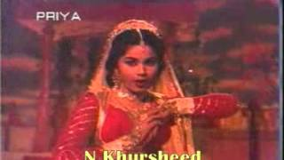 Mohabbat Mai Agar Daman Kisi Ka Tham Lete Hai=Rare-Shakila Bano Bhopali=Film=Baadshah 1964