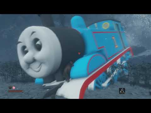 This Sekiro mod replaces the Great Serpent with Thomas the Tank Engine